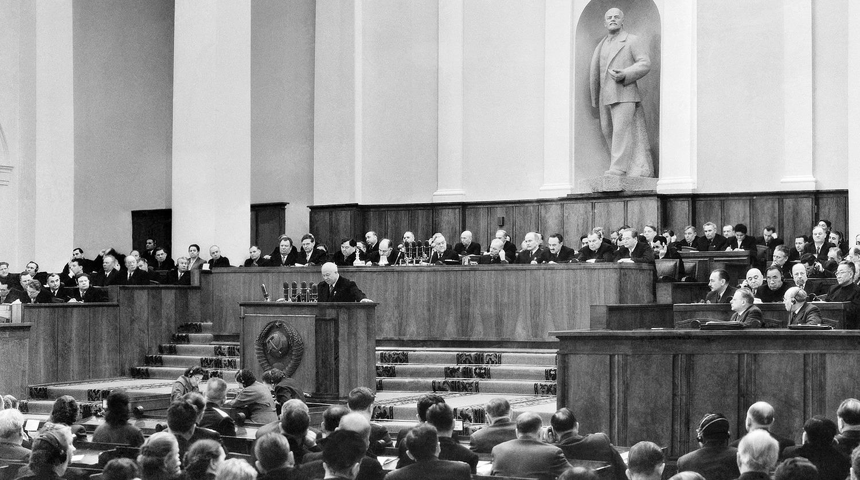 Съезд кпсс заслушав секретный доклад хрущева 8627